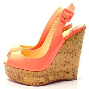 Christian Louboutin Une Plume 140 Wedges 35.5